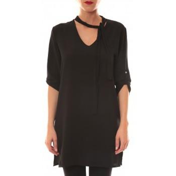 Vêtements Femme Robes courtes Carla Conti Robe 156  Noire Noir