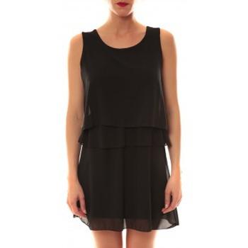 Vêtements Femme Robes courtes Carla Conti Robe TROIS  Noire Noir