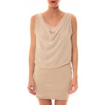 Vêtements Femme Robes courtes La Vitrine De La Mode Robe 157 By La Vitrine Beige Beige
