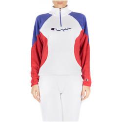 Vêtements Femme Sweats Champion HIGH NECK TOP ww001-wht-ryr-scbl