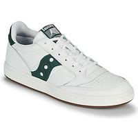 Chaussures Homme Baskets basses Saucony JAZZ COURT Blanc / Vert