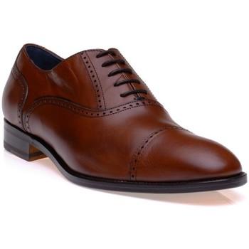 Chaussures Homme Richelieu Dillinger 98694MARRON CUIR Cuoio