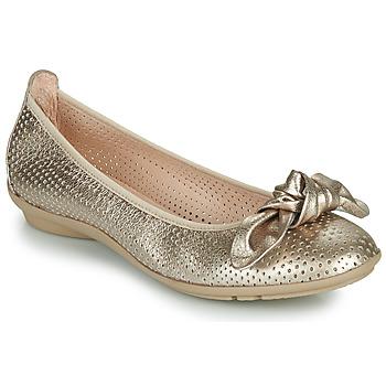 Chaussures Femme Ballerines / babies Hispanitas CAPRI Doré