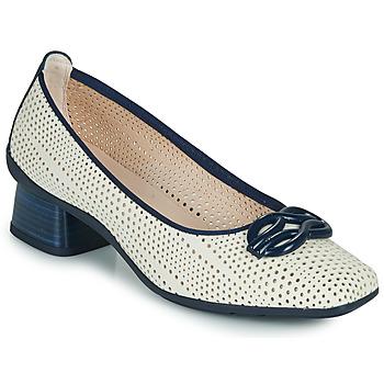 Chaussures Femme Escarpins Hispanitas FIONA Blanc / Bleu