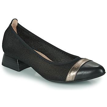 Chaussures Femme Escarpins Hispanitas ADEL Noir / Argenté