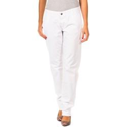 Vêtements Femme Chinos / Carrots Gaastra Pantalon long Blanc