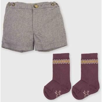 Vêtements Garçon Shorts / Bermudas Tutto Piccolo Bermudes Gris