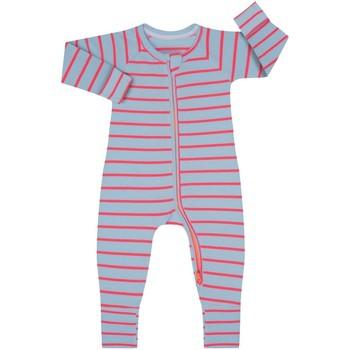 Vêtements Enfant Combinaisons / Salopettes DIM Barboteuse à manches longues avec fermeture éclair Multicolore