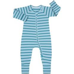 Vêtements Enfant Combinaisons / Salopettes DIM Barboteuse à manches longues avec fermeture éclair Bleu
