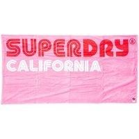 Veuillez choisir un pays à partir de la liste déroulante Femme Serviettes de plage Superdry Serviette de plage Rose