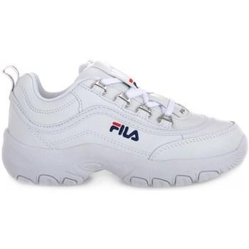 Chaussures Enfant Baskets basses Fila Strada Low Junior Blanc