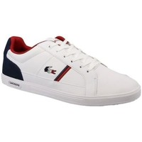 Chaussures Femme Baskets mode Lacoste LACOSTE EUROPA 317 WHT/NVY BLANC/NAVY