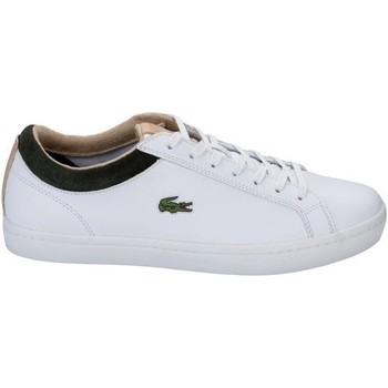 Chaussures Baskets mode Lacoste Straightset S316 Blanc