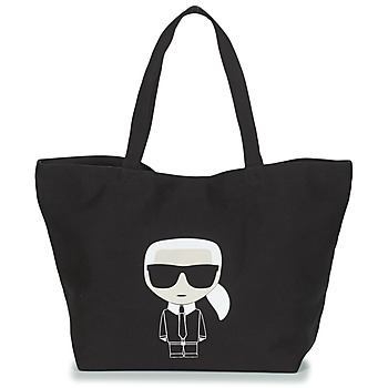 Sacs Femme Cabas / Sacs shopping Karl Lagerfeld K/IKONIK KARL TOTE Noir
