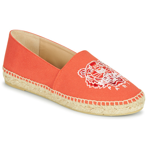 Chaussures Femme Espadrilles Kenzo CLASSIC TIGER Corail