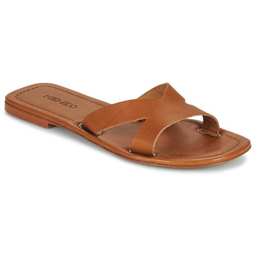 Chaussures Femme Mules Kenzo OPANKA Cognac