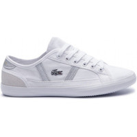 Chaussures Baskets mode Lacoste SIDELINE 219 1 CFA WHT/CNV BLANC