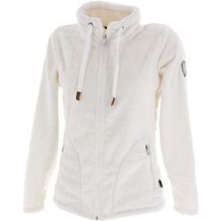 Vêtements Femme Polaires Angele Miami blc fz polaire l Blanc