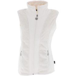 Vêtements Femme Polaires Angele Vienne blc sm gilet l Blanc