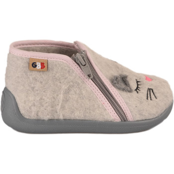 Chaussures Enfant Chaussons Apotipoma Pantoufles fille -  - Gris - 21 GRIS