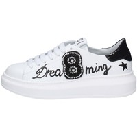 Chaussures Femme Baskets basses Gio + P08 BLANC