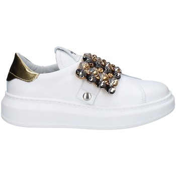 Chaussures Femme Baskets basses Gio + G908B BLANC