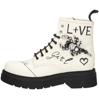 Chaussures Femme Boots Gio + G2135B LAIT