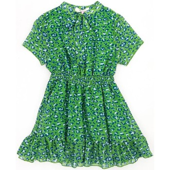 Vêtements Fille Robes courtes Vicolo 3146V0027 robe Enfant Vert / Bleu Vert / Bleu