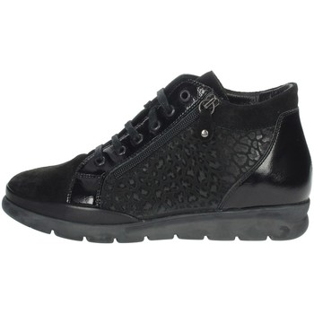 Chaussures Femme Baskets montantes Riposella IC-127 Noir