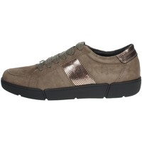 Chaussures Femme Baskets basses Riposella IC-123 Marron Taupe