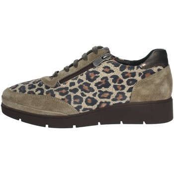 Chaussures Femme Derbies Riposella IC-121 Marron Taupe