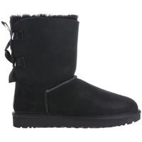 Chaussures Femme Bottes de neige UGG Bailey Bow II Noir