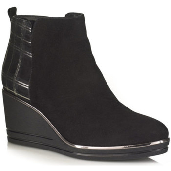Chaussures Femme Bottines Softwaves 7.53.17 Noir