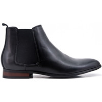 Chaussures Bottes ville Uomo Design Bottine Chelsea Carl Noir