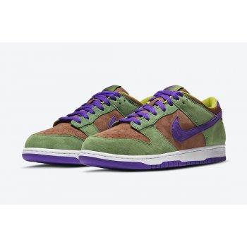 Chaussures Baskets basses Nike Dunk Low SP Veneer Veneer/Autumn Green-Deep Purple