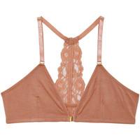 Sous-vêtements Femme Triangles / Sans armatures Underprotection Mia Beige