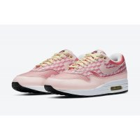 Chaussures Baskets basses Nike Air Max 1 Powerwall Strawberry Atmosphere/Atmosphere-True White
