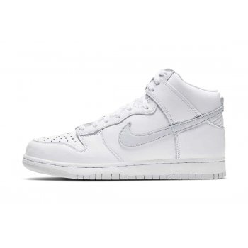 Chaussures Baskets montantes Nike Dunk Hogh Pure Platinum White/Pure Platinum