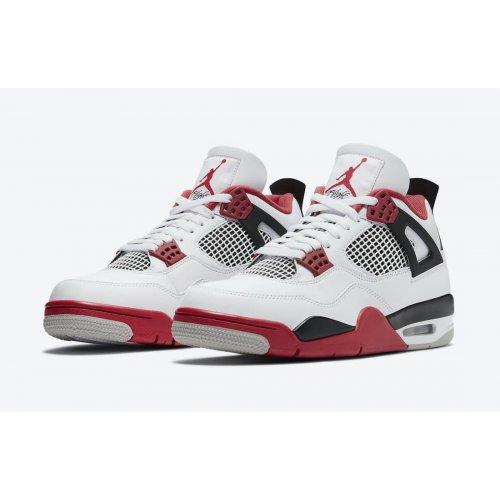 Jordan 4 Tech Red