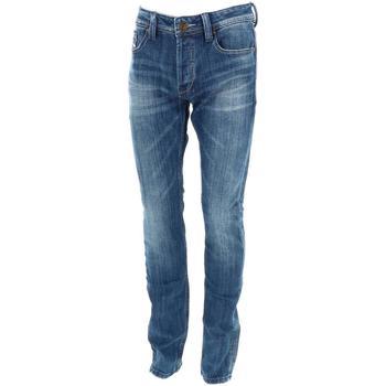 Vêtements Homme Jeans droit Leo Gutti 9 jeans 1806 Bleu marine / bleu nuit