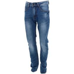Vêtements Homme Jeans droit Giani 5 Leo guttin2n jeans  703 Bleu marine / bleu nuit