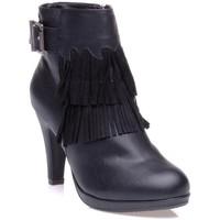 Chaussures Femme Bottines Xti 99803NOIR Noir