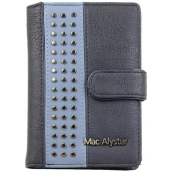 Sacs Femme Porte-monnaie Mac Alyster Porte monnaie  RFID Allure déco cloutée Bleu Multicolor