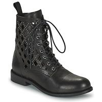Chaussures Femme Boots Mimmu MONTONE NEROA Noir