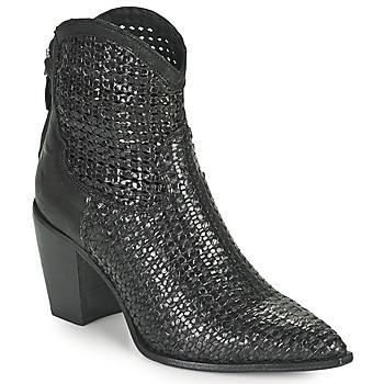 Chaussures Femme Bottines Mimmu INTRECCIO NERO Noir