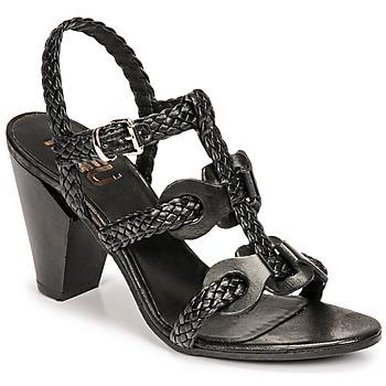 Chaussures Femme Sandales et Nu-pieds Mimmu TRECCIA-P-NERO Noir