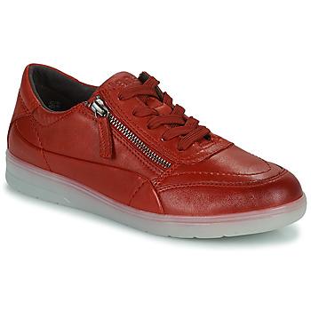 Chaussures Femme Baskets basses Jana PHOEBIA Rouge