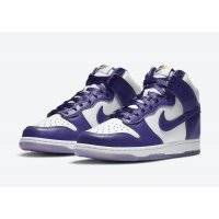 Chaussures Baskets montantes Nike Dunk High Varsity Purple White/Varsity Purple