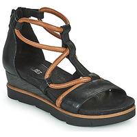 Chaussures Femme Sandales et Nu-pieds Mjus TAPASITA Noir / Camel