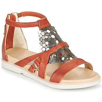 Chaussures Femme Sandales et Nu-pieds Mjus KETTA Brique / argenté